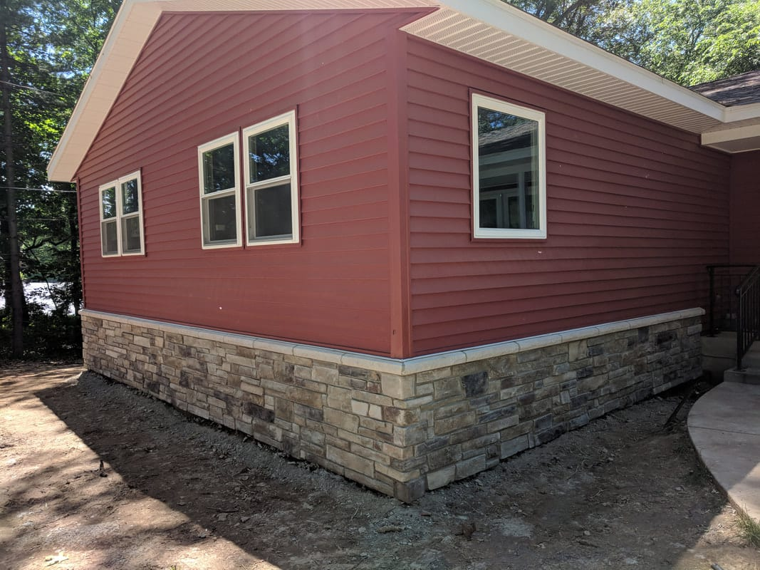 Siding Home Construction project