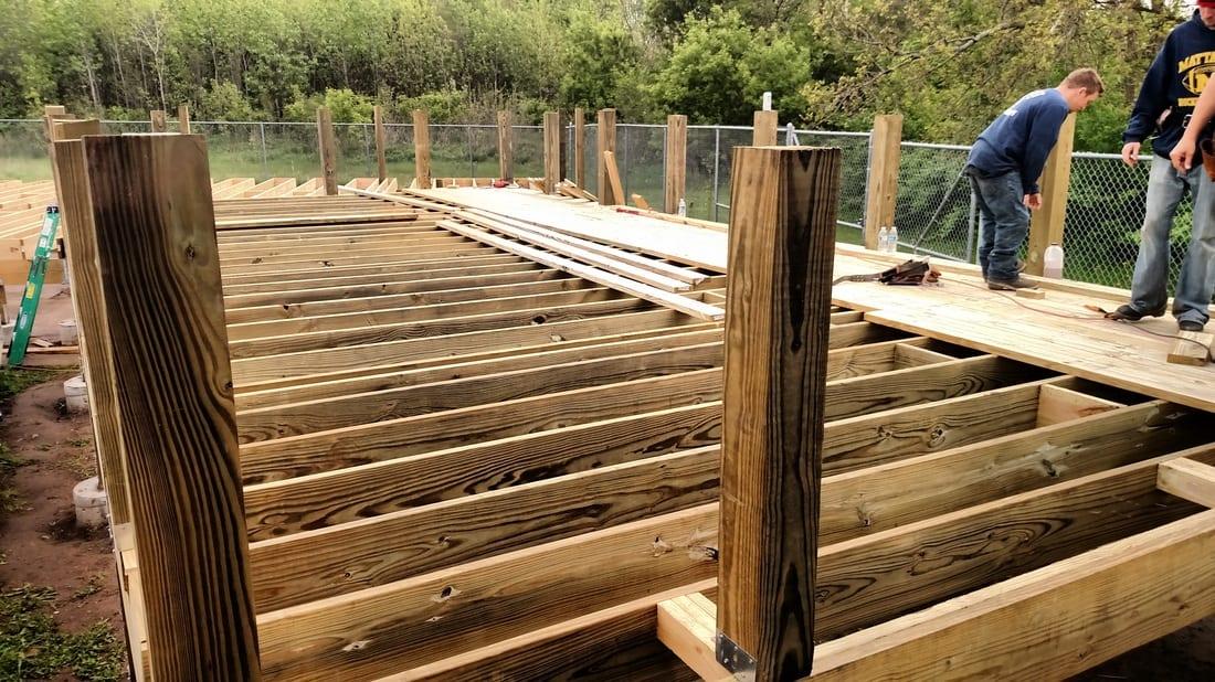 Kalamazoo Growlers Deck Project