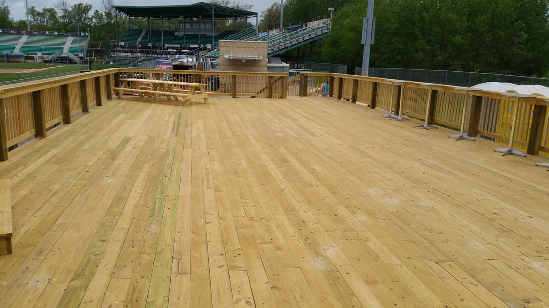Kalamazoo Growlers Deck Finished Project