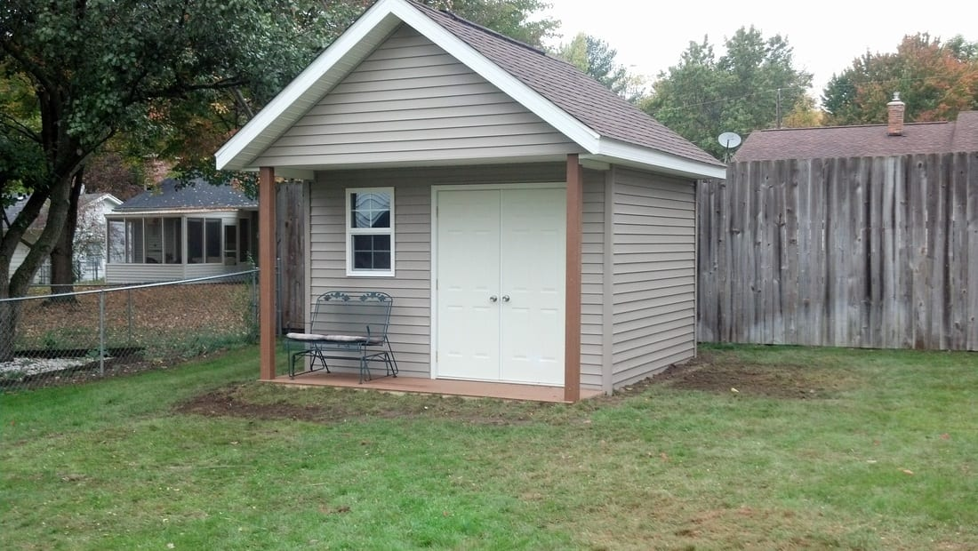 Shed Finished Construction Project