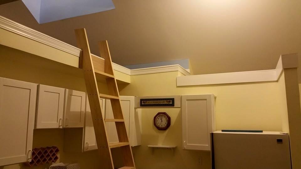 Home Loft Custom Renovation Project