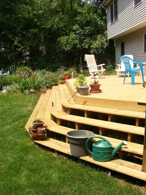 Custom Deck Construction Project