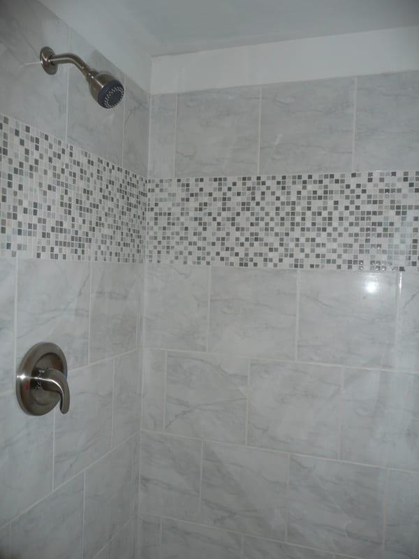 Custom Shower Tile Renovation