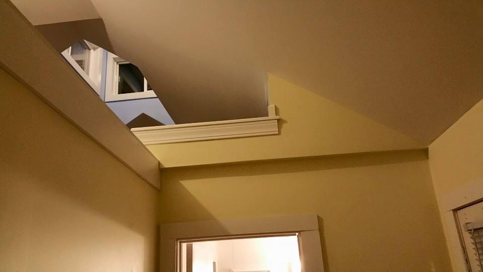 Custom Home Loft Construction Project
