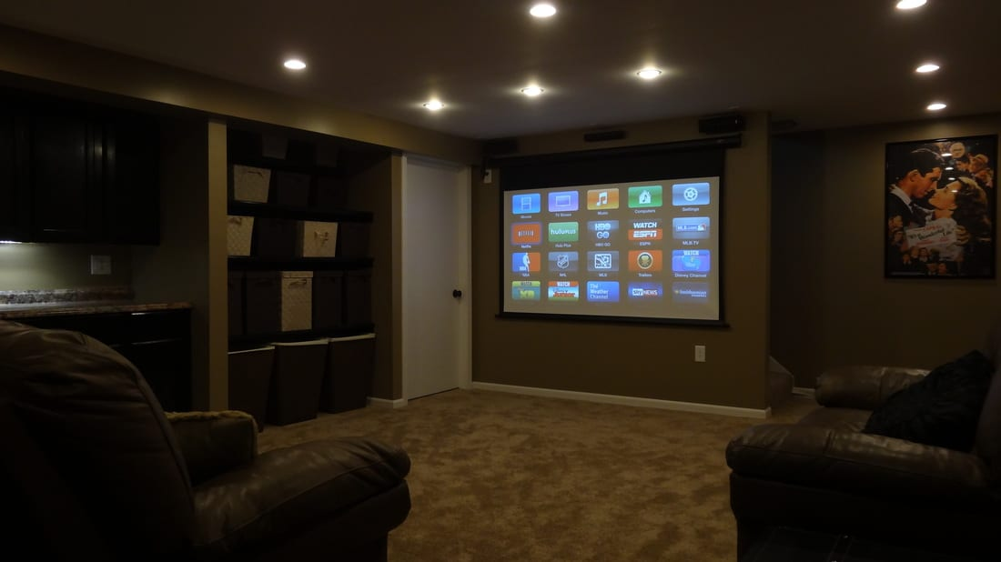 Basement Home Theater Project