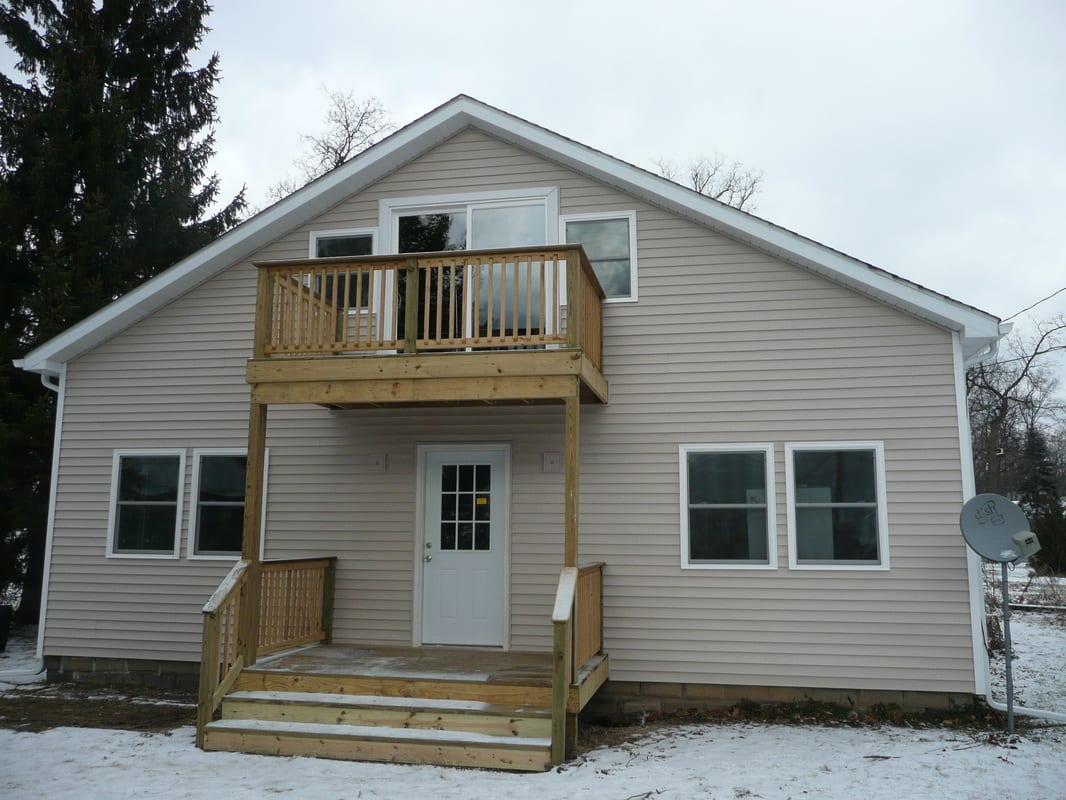 Deck and Siding Construction Project
