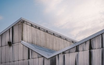 Rusted Metal Roofing